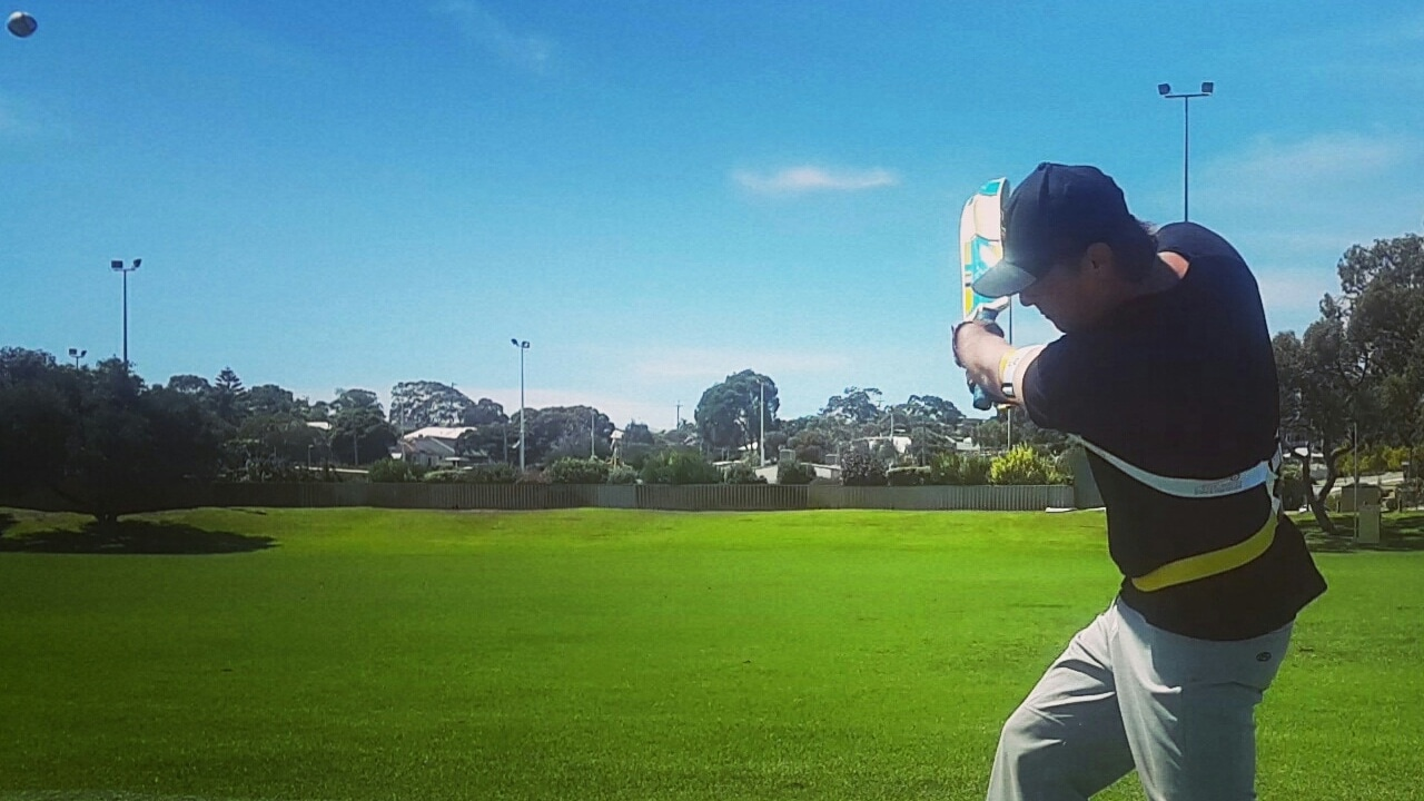Powerful follow through, our power cricket training equipment works from the start of your shot to the end. Bat your way, training in the cricket nets and using your batting style and method.