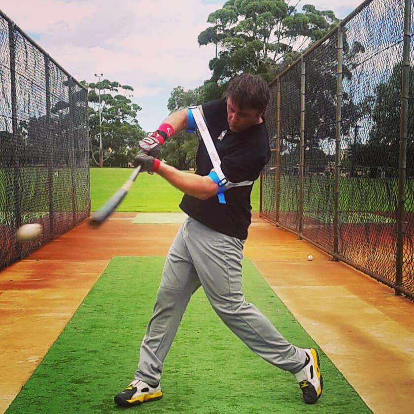 Laser Power Swing Trainer Baseball Bat Speed